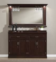 Vertical Bar Cabinet Darby Home Co Rachael Bar Cabinet With Wine Storage Reviews