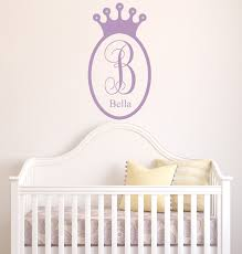 crown wall decal princess decor wall sticker sherri blum s jeweled regal princess crown wall art now available in alphabet garden s vibrant wall decal adorned by 5 3 4 sparkly gems