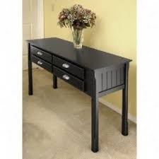 Black Console Table With Drawers Black Console Table Furniture Stcocanton Black Gloss Console