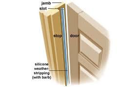 Patio Door Weather Stripping Stunning Wooden Door Seal Contemporary Ideas House Design