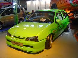 green opal car view of opel kadett photos video features and tuning of