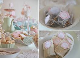 tea party bridal shower favors vintage pink doily tea party party ideas vintage