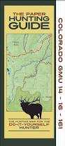 Hunting Gps Maps Colorado Topographic Hunting Unit Maps