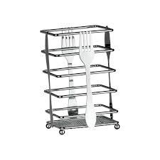 chrome u0026 stainless steel kitchen utensil cutlery holder storage