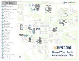 Csusb Map Inside Ucr The Top Ucr U0027s Filtered Water Stations
