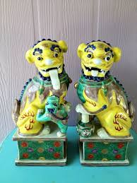 green foo dogs 13 best foo dogs images on foo dog china and furniture