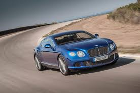 bentley continental gt speed more 2013 bentley continental gt speed first test motor trend