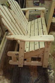 Outdoor Wooden Chair Plans Outdoor Wood Glider Chair Plans Free