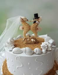 seahorse cake topper sea wedding cake topper groom seahorse lover