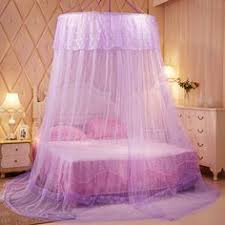 Purple Bed Canopy Classic Mosquito Net Double Bed White Double Beds