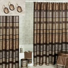 Cheetah Sheer Curtains by Safari Print Shower Curtain Home Design And Decoration