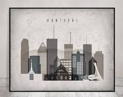 montreal poster etsy