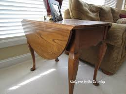 drop leaf end table end table upgrade calypso in the country