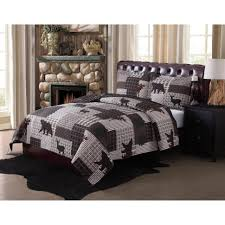 Fish Themed Comforters Bedroom Awesome Moose Bedding Sets Black Bear Bedding Cabin