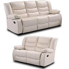 ivory leather reclining sofa belfast ivory cream leather reclining sofa range all combinations