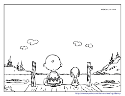 snoopy and charlie brown coloring pages smilecoloring com all