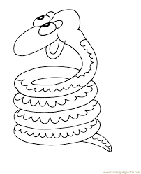 circleing snake coloring page free snake coloring pages