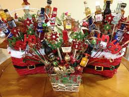 liquor gift baskets liquor gift baskets i made 2 something like these for our gift