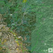 Idaho Hunting Unit Map Idaho Game Management Unit Dworshak Elk