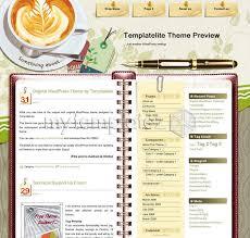free templates wordpress themes cafe restaurant coffee desk