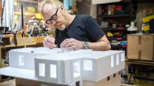 Model Home Design Jobs by Adam Savage U0027s One Day Builds Foamcore House Youtube