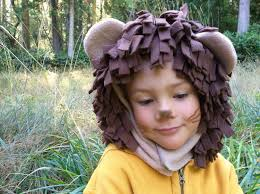 lion halloween costume lion halloween costume hood and tail only kids costume hood