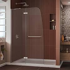 Shower Door Width Dreamline Linea 34 In Width Frameless Shower Door 3 8 Glass