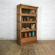 Sectional Bookcase Vintage Oak Solicitors Sectional Bookcase Mustard Vintage