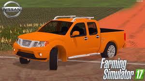 orange nissan truck nissan frontier pro 4x muito top farming simulator 17