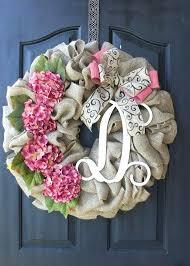 wedding wreaths winter burlap front door wreath fall burlap door wreaths hydrangea