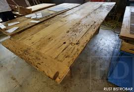 reclaimed wood restaurant table tops restaurant tables 15 blog