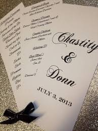 Personalized Wedding Programs 14 Best Programs U0026 Menus Images On Pinterest Personalized
