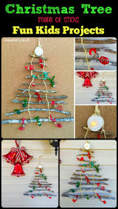 Diy Christmas Tree Made Out Of Sticks Isavea2z Com