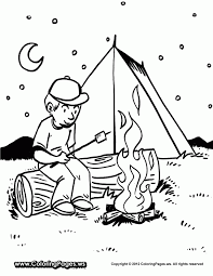 camping coloring pages print coloring pages kids android