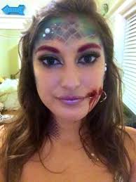 Halloween Makeup Mermaid Hooked Mermaid For Halloween Album On Imgur