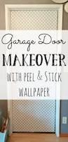 Peel Stick Wallpaper Interior Door Makeover With Peel U0026 Stick Wallpaper Little