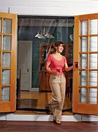 Patio Door Magnetic Screen Screens For Doors With Magnetic Closure Gardener S Supply