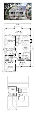 Cape Cod Cottage Country Southern House Plan Bedrooms Open Concept