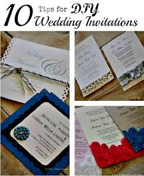 Wedding Invitations How To Diy Simple Wedding Invitations Vertabox Com