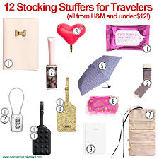 avec amour gift guide for travelers 12 stocking stuffers under 12