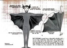 Umbrella Halloween Costume Bat Costume Umbrella Long Underwear Popular
