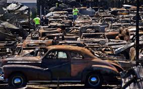 rare muscle cars rural illinois town mourns after major fire damages classic car