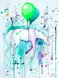 drugcorn my colorful illustration of a flying unicorn bored panda