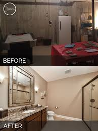 brian u0026 kelli u0027s basement before u0026 after pictures home remodeling