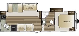 keystone floor plans keystone cougar 27rks rvs for sale camping world rv sales
