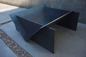 Steel Firepit Let S Ogle This Minimalist Portland Made Pit