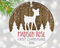 Custom Personalized Christmas Ornaments by Custom Ornaments Etsy