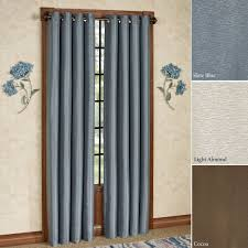 grommet curtains and tab top panels touch of class