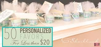 easy inexpensive personalized tea light candle favors sherblush