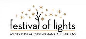 botanical gardens fort bragg ca festival of lights dazzling festival of lights in fort bragg mendocino visitors guide